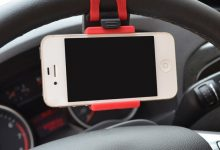 autos kormanykerekre helyezheto telefontarto 2 220x150 - Kormánykerékre helyezhető telefontartó