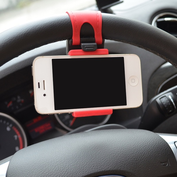 autos kormanykerekre helyezheto telefontarto 2 - Kormánykerékre helyezhető telefontartó