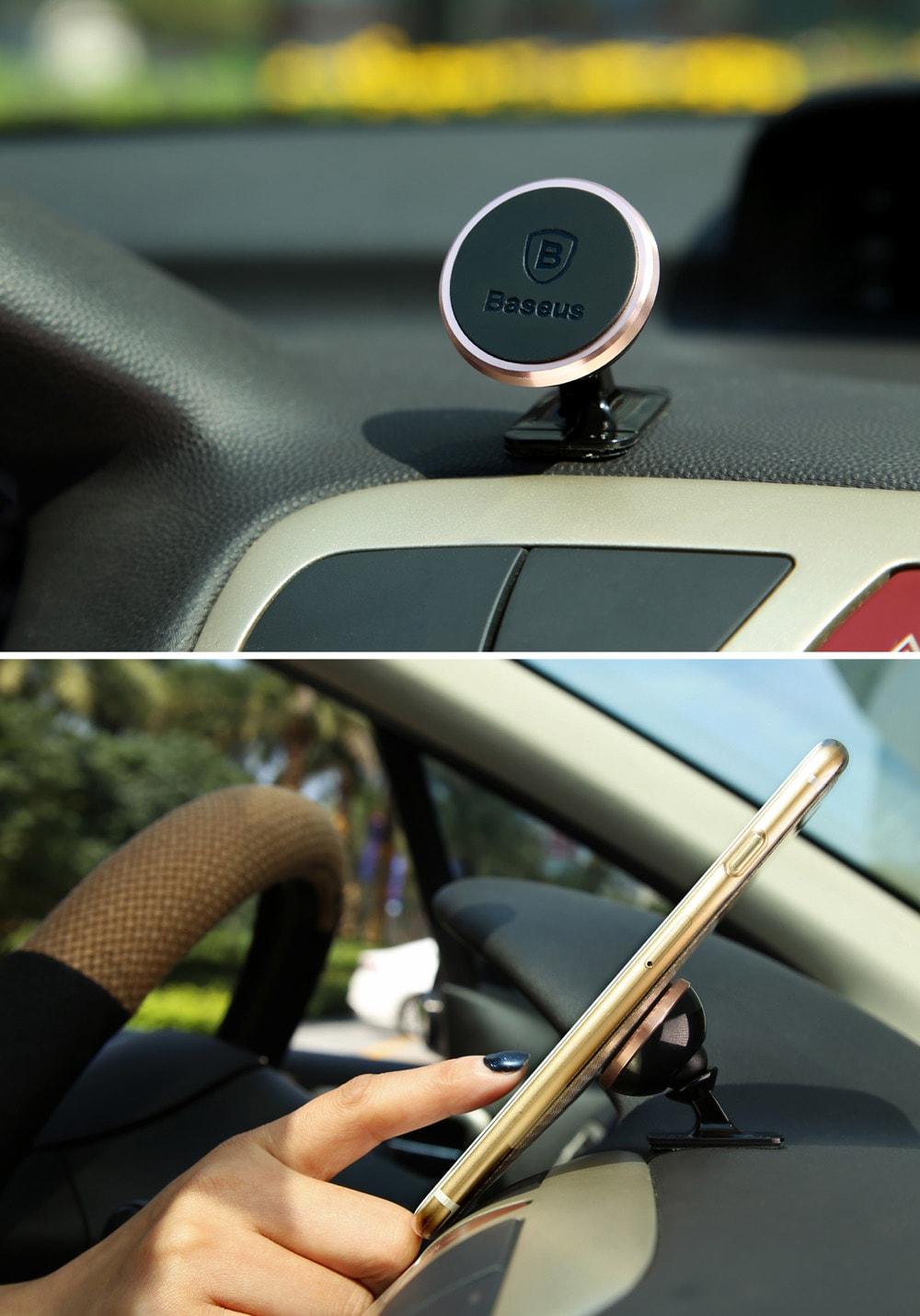 baseus 360 fokos magneses autos tarto 1 - Baseus 360 fokos mágneses autós tartó