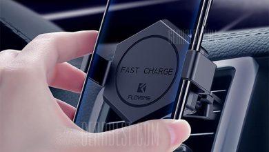 floveme 2 in 1 vezetek nelkuli tolto 360 fokos forgatasu telefon tarto 5 390x220 - Floveme 2-in-1 vezeték nélküli töltő 360 fokos forgatású telefon tartó