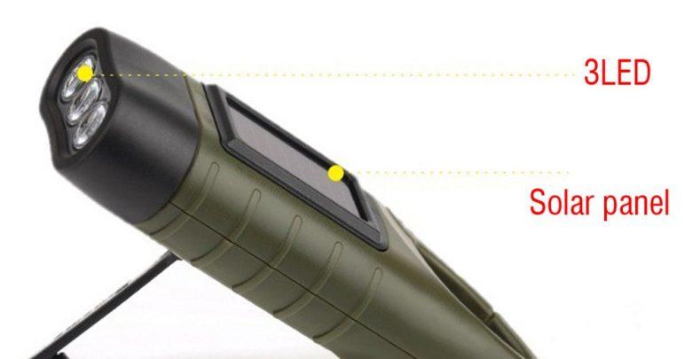 toltheto kezi forgattyus dinamos napelemes aramellatasu led zseblampa 3 780x405 - Tölthető, kézi forgattyús dinamós, napelemes áramellátású LED zseblámpa