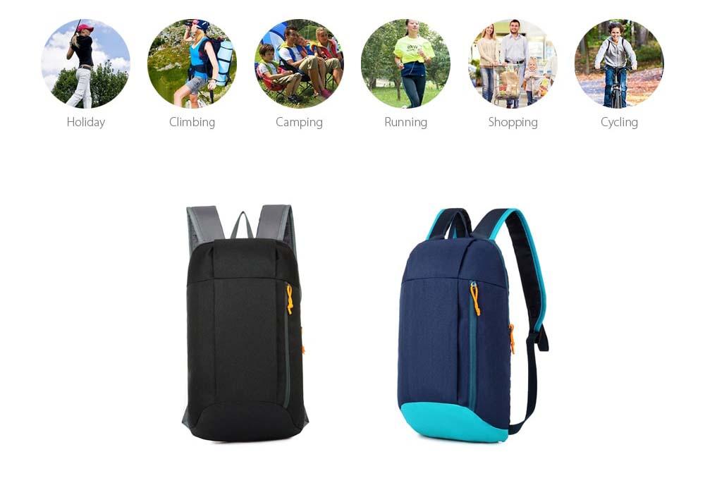 vizallo nylon 10l ultra konnyu hatizsak 3 - Vízálló Nylon 10L Ultra könnyű hátizsák