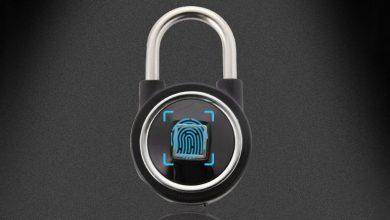 bluetooth ujjlenyomat olvasos jelszo lakat 2 390x220 - Bluetooth ujjlenyomat olvasós jelszó lakat