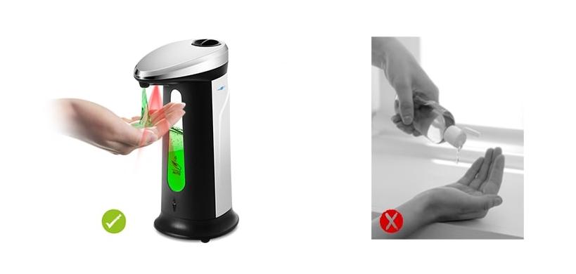 ad 03 400 automatikus szappan adagolo 2 - AD - 03 400 automatikus szappan adagoló