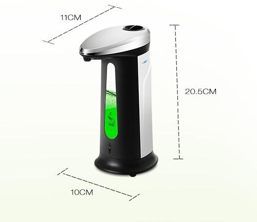 ad 03 400 automatikus szappan adagolo 4 - AD - 03 400 automatikus szappan adagoló