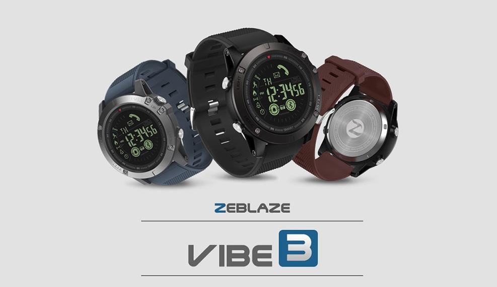 zeblaze vibe 3 okosora android es ios kompatibilis 1 - Zeblaze VIBE 3 okosóra Android és iOS kompatibilis